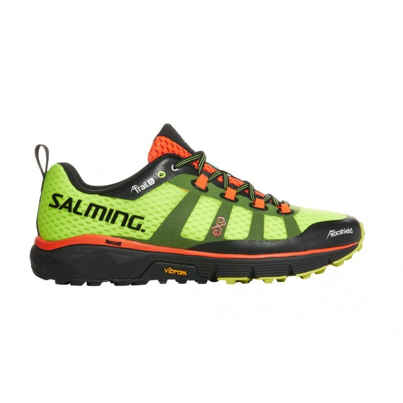 Schuhe Trail 5 Men Safety Salming Yellow f76gYyb