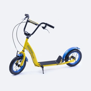 Scooter Spokey TROPFEN aufblasbar 12' Rad yellow, Spokey