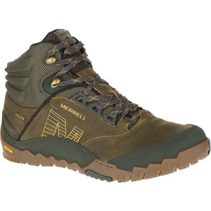 Schuhe Merrell ANHANG MID GORE-TEX Olive J36817, Merrell