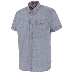 Hemden Salewa Fanes LEINEN CO M S/S SHIRT 25734-8670, Salewa