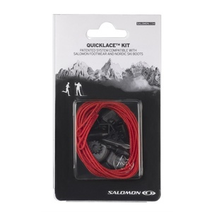 Schnürsenkel Salomon QUICKLACE KIT Red 326674, Salomon
