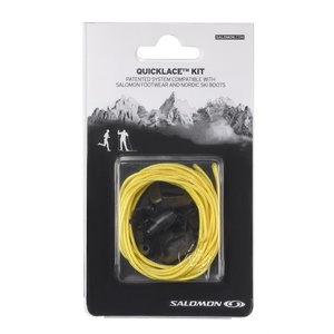 Schnürsenkel Salomon QUICKLACE KIT Yellow 326675, Salomon