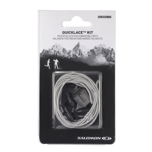 Schnürsenkel Salomon QUICKLACE KIT Grey 326676, Salomon
