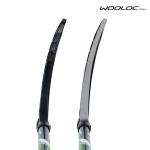 Floorball Stock Wooloc X-PLUS 2.9 black 101 OVAL SB´13, Wooloc