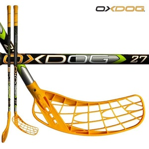 Floorball Stock Oxdog FUSION 27 black 101 OVAL MB´13, Oxdog