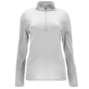 Rollkragen Spyder Women's Shimmer Bug Velour Fleece T-Neck 564716-100, Spyder