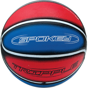 Ball Spokey Tripple blau und rot, Spokey