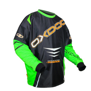 Torwart Dress OXDOG GATE GOALIE SHIRT black/green, Oxdog