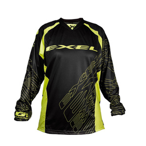 Torwart Dress EXEL G1 GOALIE JERSEY #1 schwarz/gelb, Exel