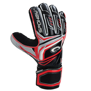 Torwart Handschuhe Spokey CONTACT II rot, Spokey