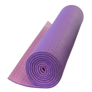 Unterlage  Yoga Yate YOGA MAT Double-Layer- lila / pink, Yate