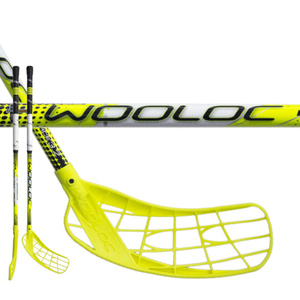 Floorball Stock WOOLOC FORCE 3.2 yellow 65 ROUND NB, Wooloc