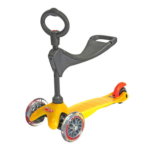 Scooter Mini Micro 3v1 yellow (yellow), Micro
