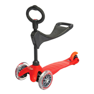 Scooter Mini Micro 3v1 red (red), Micro