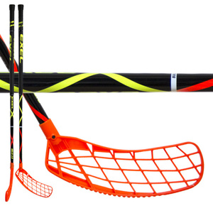 Floorball Stock EXEL HELIX 2.9 black 98 ROUND SB, Exel