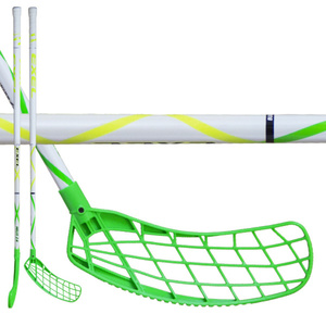 Floorball Stock EXEL HELIX 2.6 white 101 ROUND SB, Exel