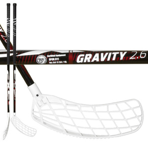 Floorball Stock EXEL GRAVITY 2.6 red 103 ROUND MB, Exel