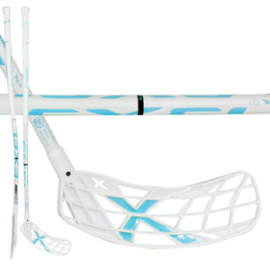Floorball Stock EXEL DOUBLECURVE 2.9 white 98 OVAL SB, Exel