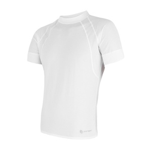 Herren T-Shirt Sensor Coolmax Fresh Air white 16100078, Sensor