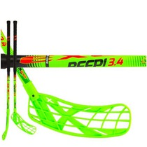 Floorball Stock Exel BEEP! 3.4 green 75 Round SB ´16, Exel