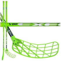 Floorball Stock V80 2.6 green 101 Oval MB '16, Exel