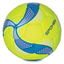 Fußball Ball Spokey COSMIC lime-blau vel.5, Spokey