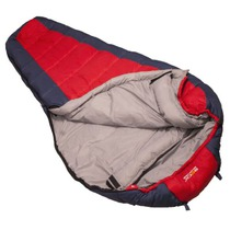 Schlafsack Rock Empire Cyklotour KT-14180_C6 red blue Long, Rock Empire