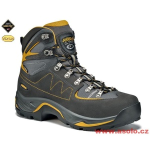 Schuhe Asolo TPS Equalon GV graphit / mineral yellow/A616