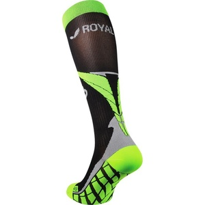 Kompression Kniestrümpfe ROYAL BAY® Air Black/Green 9688, ROYAL BAY®