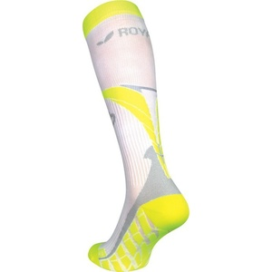 Kompression Kniestrümpfe ROYAL BAY® Air White/Yellow 0188, ROYAL BAY®